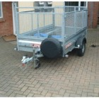 Trailer Spare Wheel Cover - 20 inch Face Diameter Tyres