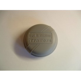 Ifor Williams Horse Trailer Grey Wheel Hub Grease Cap Cover
