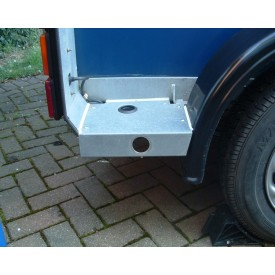 Ifor Williams Horse Trailer Rear Foot Plate Prop Stand Plastic Cap Covers