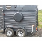 Horse Trailer Spare Wheel Cover