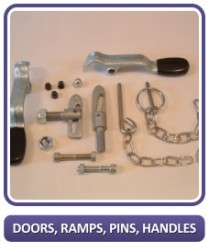 Doors, Ramps, Pins, Handles