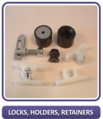 Locks, Holders, Retainers
